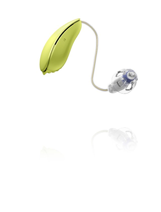 Oticon Ria2 Pro design RITE - Pale Lime 99
