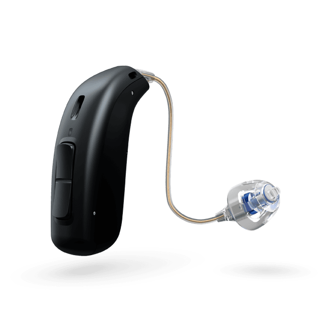 Oticon More 1 miniRITE R - oplaadbaar - Diamond Black 63