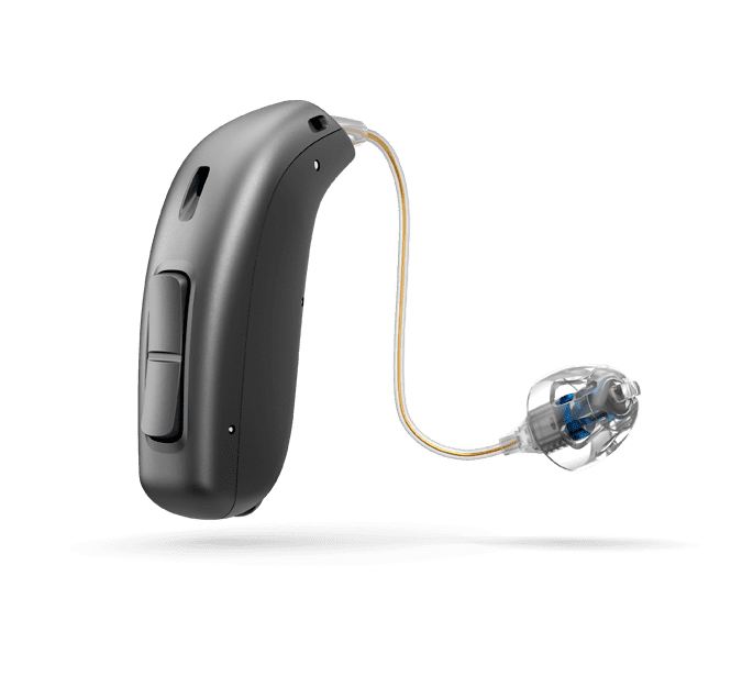 Oticon Opn S 2 miniRITE T - Steel Grey 92