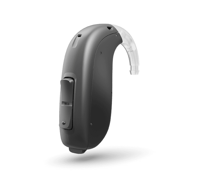 Oticon Opn S 1 BTE PP - Steel Grey 92
