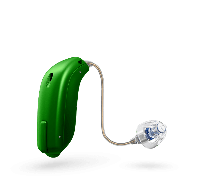 Oticon Opn Play 2 miniRITE - Emerald Green 48