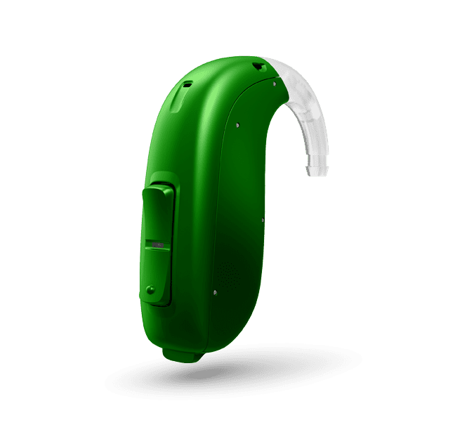 Oticon Opn Play 2 BTE PP - Emerald Green 48