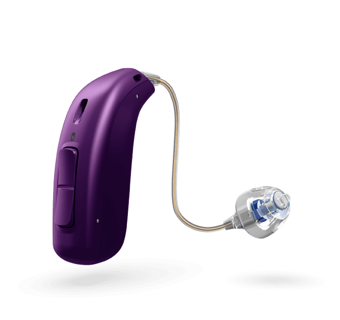 Oticon Opn Play 1 miniRITE R - oplaadbaar - Purple 45