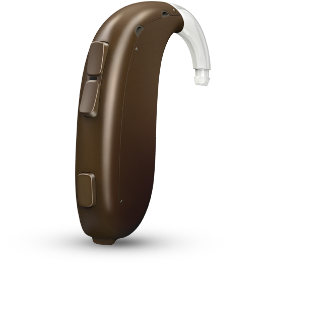 Oticon Xceed 2 BTE UP - Chestnut Brown 93