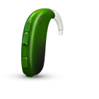 Oticon Xceed Play 1 BTE SP - Emerald Green 48