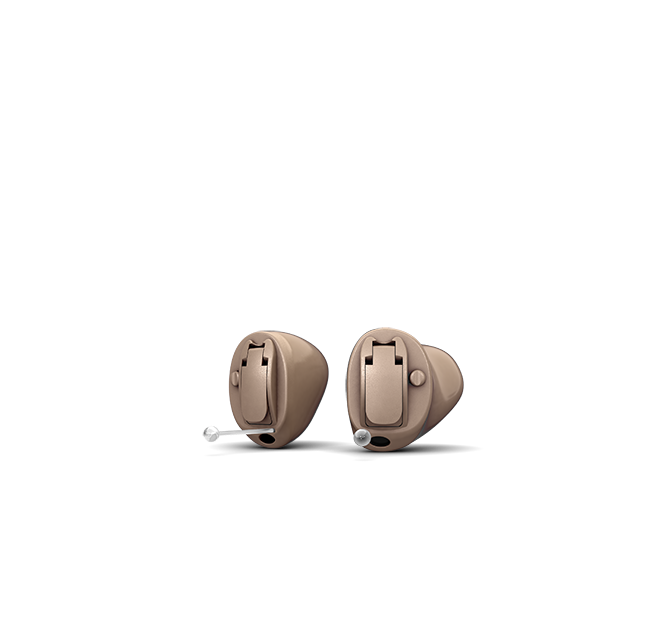 Oticon Opn 2 CIC - Light Brown 02