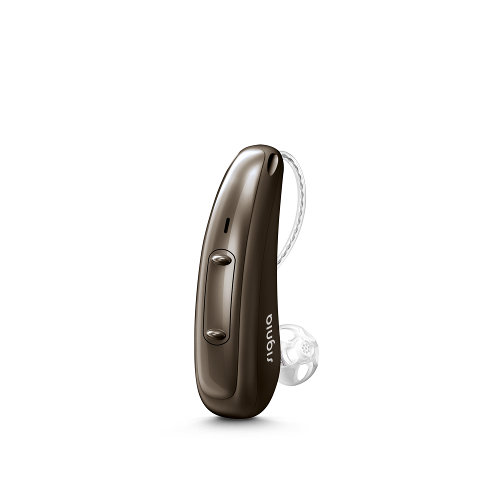 Signia Pure Charge & Go 5X - oplaadbaar - Deep Brown 72